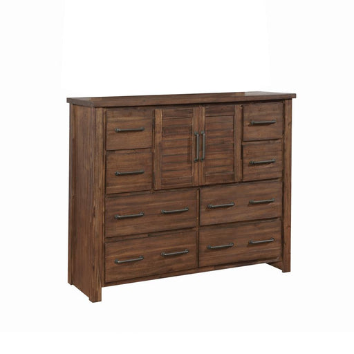 Sutter Creek Vintage Bourbon Eight-Drawer Dresser With Two Doors image