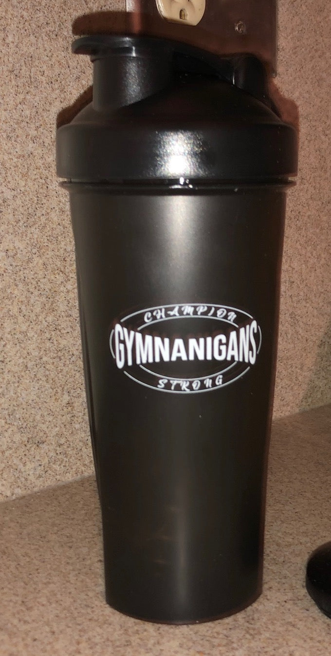 Gymnanigans Champion Strong Classic Protein Shaker Bottle (Free Shipping)