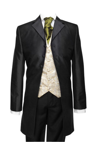 "Frockcoat ""The Dandy"" black taffeta - By Eneroth"