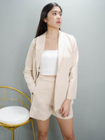 Load image into Gallery viewer, VICTORIA BLAZER (CREAM)