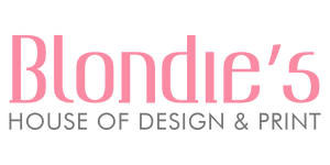 Blondie's House of Design & Print offers personalized printing & custom graphic design services