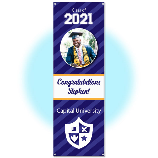 Personalized Graduation Party Door Banner