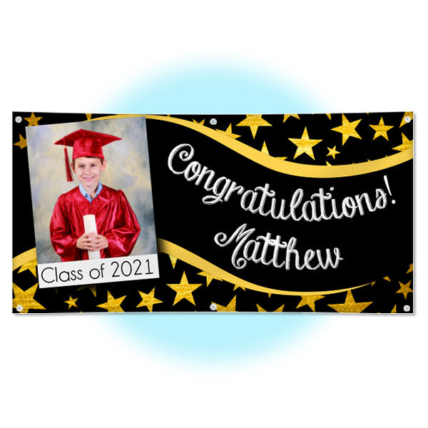 Personalized Graduation Party Banner