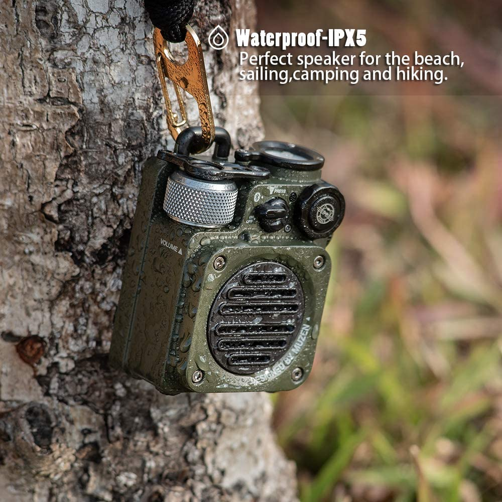Mini Wild Rugged Outdoor Bluetooth Portable Speaker