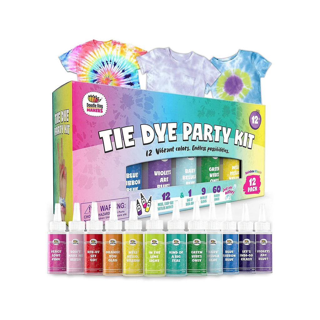 Easy Tie Dye Party