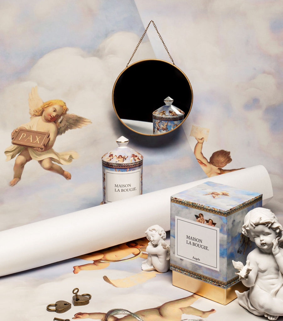 Angels Candle Porcelain Collection