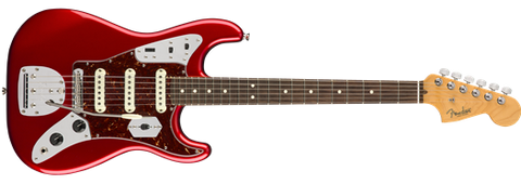 Fender USED Limited Edition Jag Stratocaster, Rosewood Fingerboard, Candy Apple Red