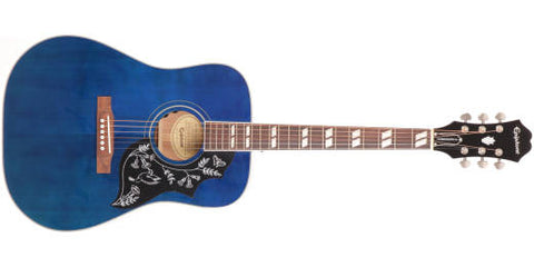 Limited Edition Hummingbird Pro Acoustic/Electric - Blue Burst