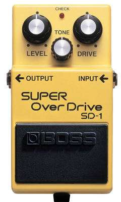 Boss Super Overdrive pedal
