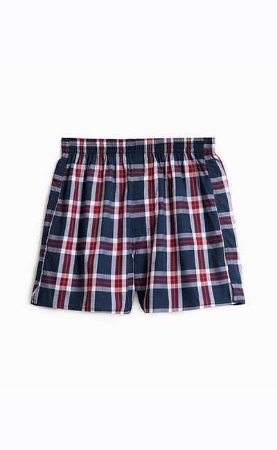 Checkered Control • Woven Knit Boxer - Celessa Soft Clothing