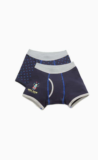 Control Games  • Rolled Boxer-2pcs Set - Celessa Soft Clothing