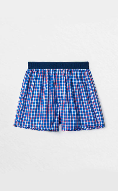 Checkered Control • Waistband Woven Knit Boxer - Celessa Soft Clothing