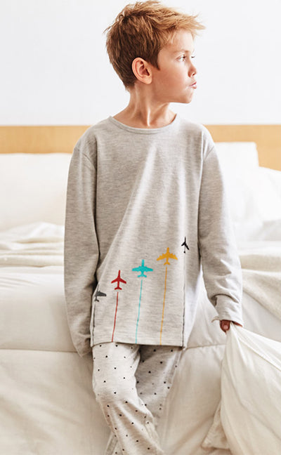 Toy Storage • Complete Set with Patch Long Sleeve - Celessa Soft Clothing