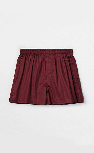 Simple Plan • Woven Cotton Knit Boxer - Celessa Soft Clothing