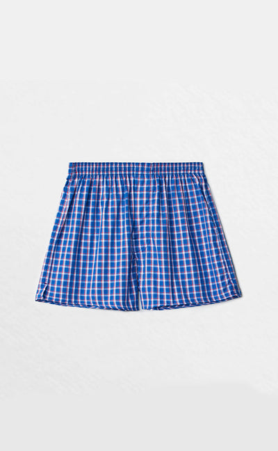 Checkered Control • Woven Cotton Knit Boxer - Celessa Soft Clothing