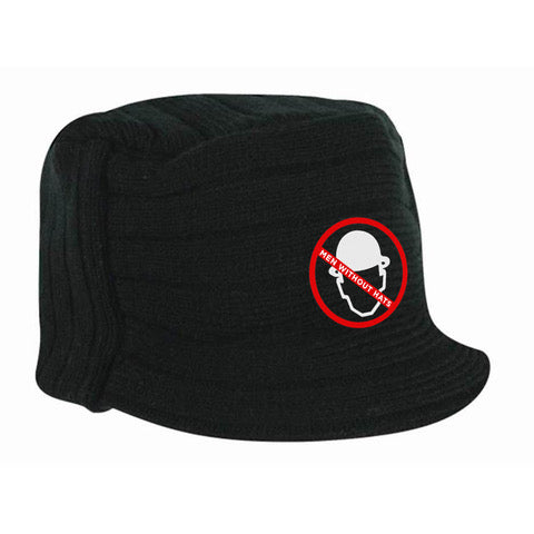 Men Without Hats Beanie (With Visor)