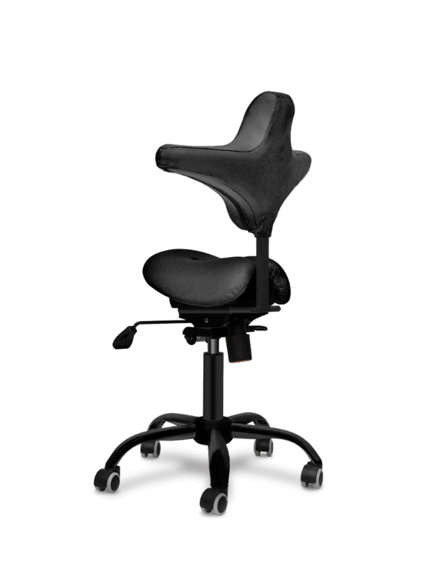 TinyDuo Front the Split Saddle Chair