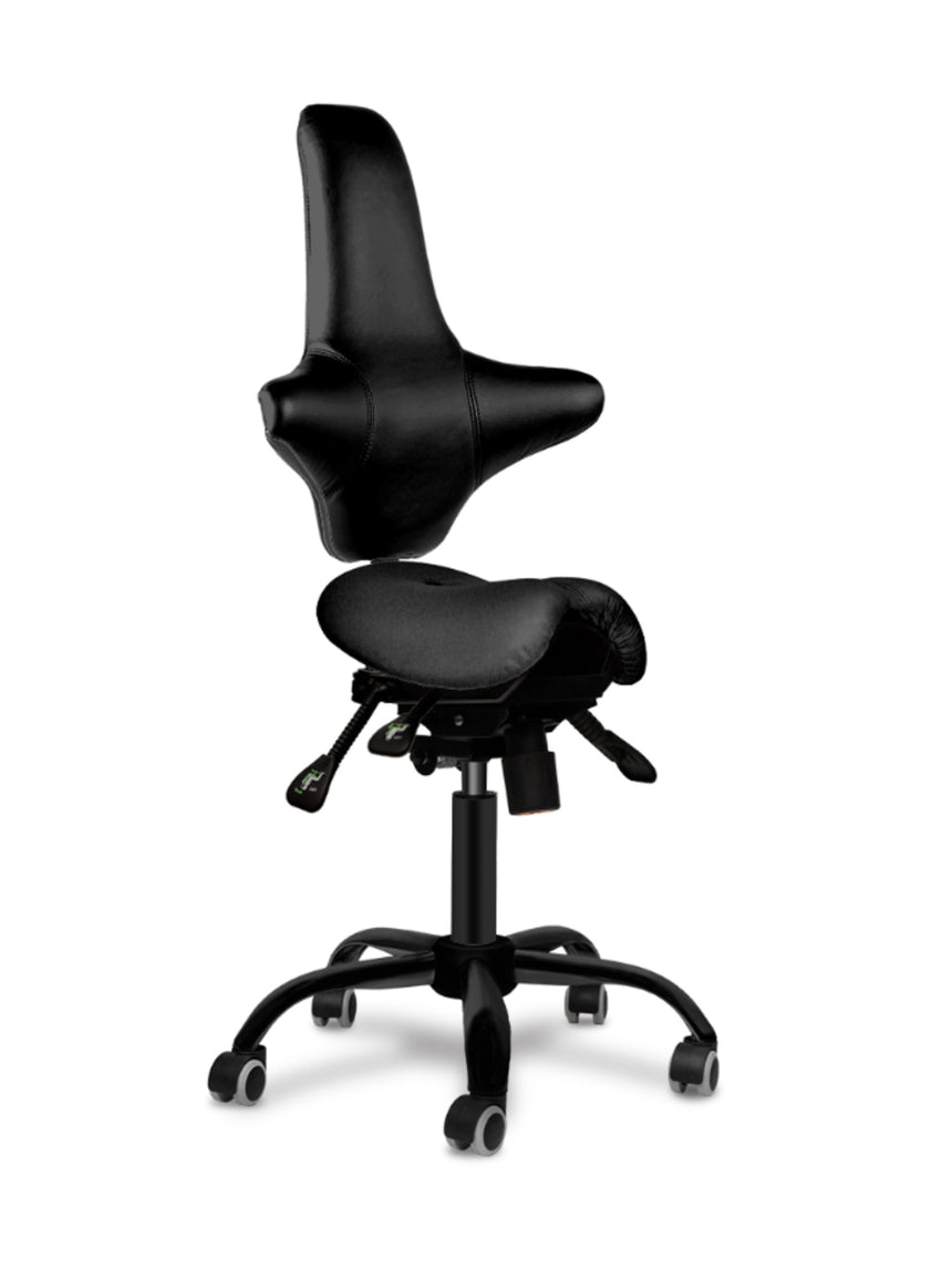 TinyDuo Back the Split Saddle chair
