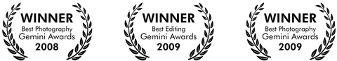 Gemini Award Winner Canadian Screen Awards
