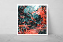 "Load image into Gallery viewer, ""LA FORET AERIENNE"" by Nicolas Le Beuan Bénic / FREE SHIPPING"