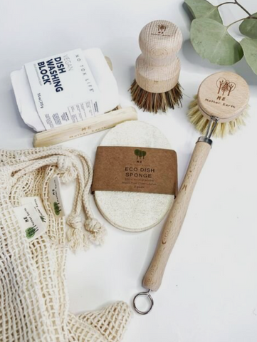 Eco friendly brushes and clothes