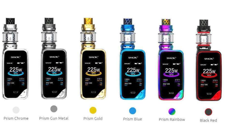 Authentic SMOK X-Priv 225W Mod Kit with TFV12 Prince Tank