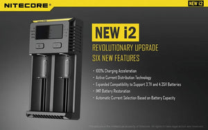 Nitecore New I2 Battery Charger