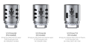 Authentic SMOK TFV12 Prince Replacement Coil Head In Stock