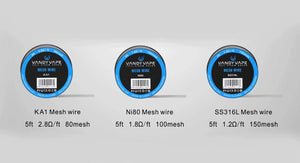 Authentic Vandy Vape Mesh Wire For Mesh RDA&RTA In Stock