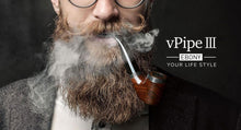 Load image into Gallery viewer, VapeOnly vPipe III Ebony e-Pipe Kit In Stock