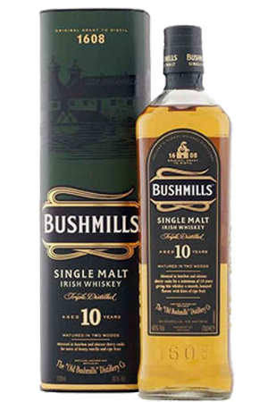 Bushmills 10 Yo malt 700ml