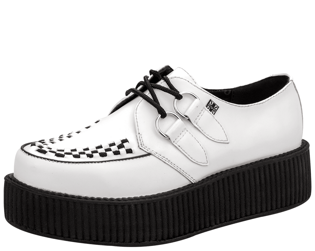 White Leather Creeper