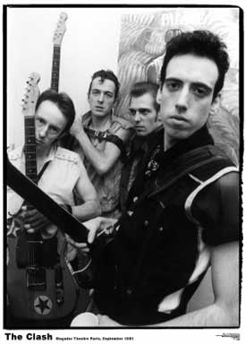 The Clash Mogador Poster - DeadRockers