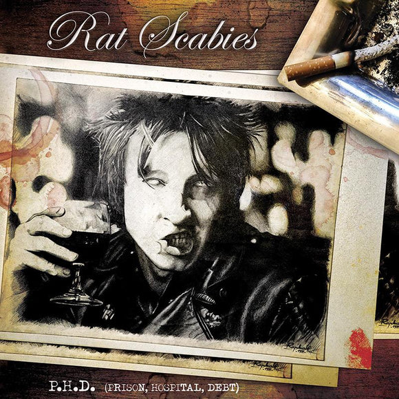 Rat Scabies ‎- P.H.D. (Prison, Hospital, Debt) LP