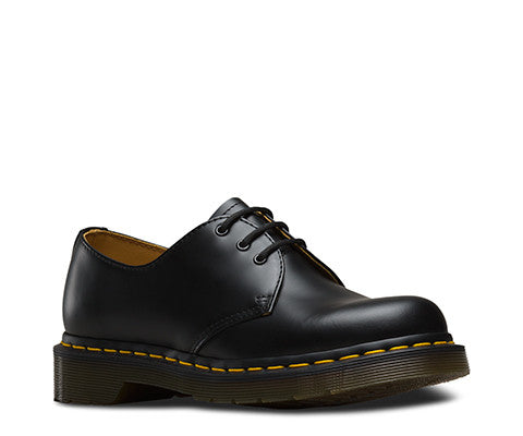1461 Napa 3 Eye Black Smooth Dr. Martens