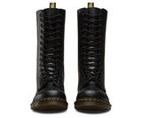 1914 Smooth Black Dr. Marten 14 Eye Boots - DeadRockers