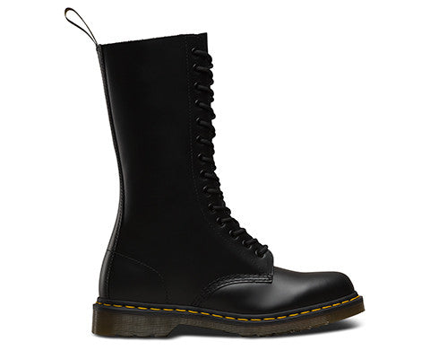23f21a3181980 ... 1914 Smooth Black Dr. Marten 14 Eye Boots - DeadRockers ...