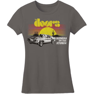The Doors Rider on the Storm Fitted Shirt
