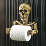 Skeleton Toilet Paper Holder - DeadRockers