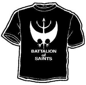 Battalion of Saints Band Tee - DeadRockers