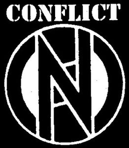 Conflict Back Patch - DeadRockers