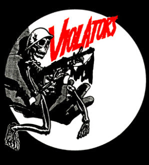 Violators Back Patch - DeadRockers