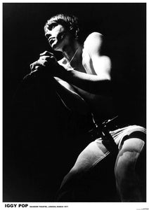 Iggy Pop Live Poster - DeadRockers