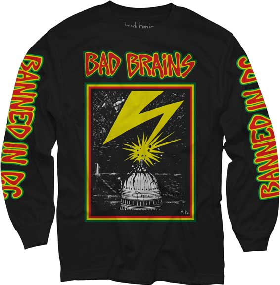 Bad Brains Long Sleeve Shirt