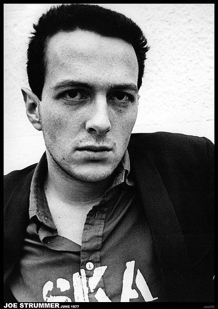 Joe Strummer Poster - DeadRockers