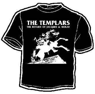 Templars Return of Jacques Band Tee
