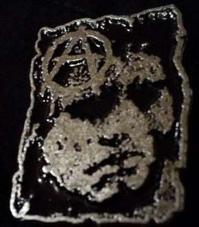 Discharge Anarchy Metal Pin - DeadRockers