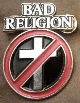 Bad Religion Metal Pin