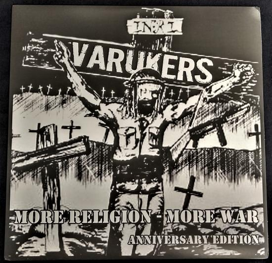 Varukers - More Religion More War Anniversary Edition LP