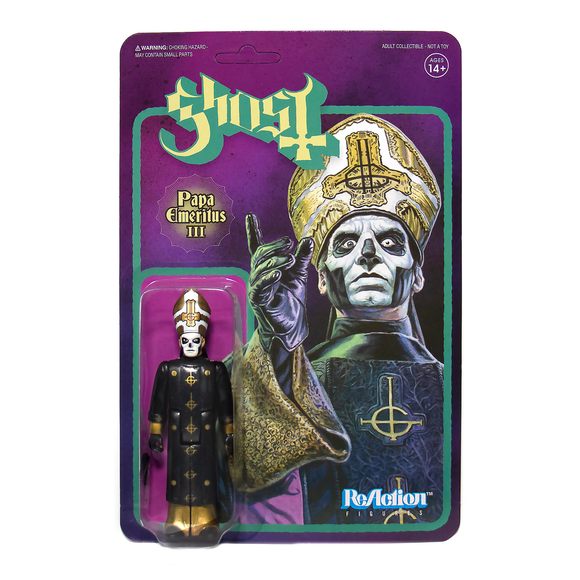 Ghost ReAction Figure Papa Emeritus III